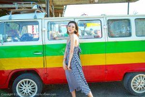 [FEILIN嗲囡囡] VOL.142 Model @冯木木 LRIS Philippines Bantayan Island Travel Photo