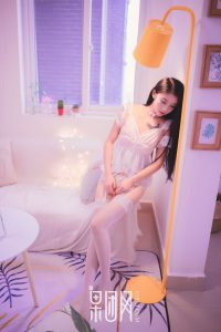 [Girlt fruit group] Xiongchuan Jixin No.027 Pure goddess dressed in white gauze charming and moving!