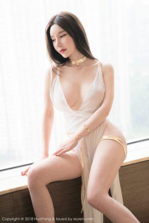 [HuaYang花漾] Vol.076 Goddess @周于希蕾丝内衣写真