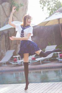 [IMiss Love Honey Club] Vol.134 Sandy Chen Tianyang – The first set of photo shoot on Koh Samui