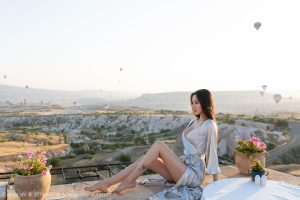 [MiStar Charm Club] VOL.245 Temperament Goddess @穆菲菲Turkey Traveler second set photo