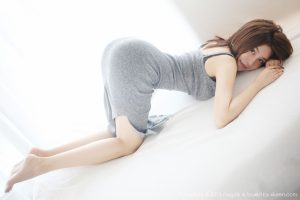 [MYG] VOL.232 Promise Sabrina – Temperament Maxi Dress and Temptation Stockings Legs Series Photo