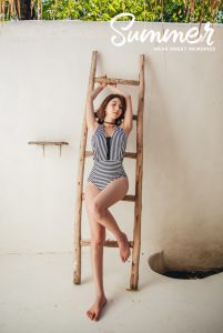 Lee Chae Eun – Audrey Monokini – 11.06.19