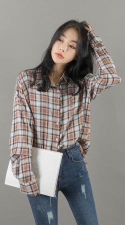 An Seo Rin – Jeans Set – 10.10.2017