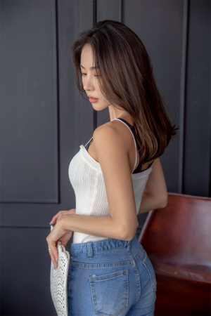 An Seo Rin – Jeans Set – 16.05.2017