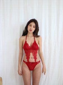 Jeon Ji Su – Bohemian Lace Red