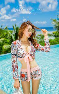 Park Jeong Yoon – 191117 – Sunny Pink Bikini