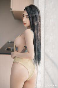 Jaja – Gold Dress
