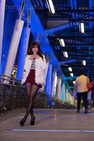 [Beautyleg 番外篇] Taiwan leg model MISO Xia Qing-Christmas outside photo