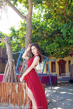[FEILIN 嗲 囡囡] VOL.152 Zhou Yuxi-Stockings Curve Seduction Photo Set