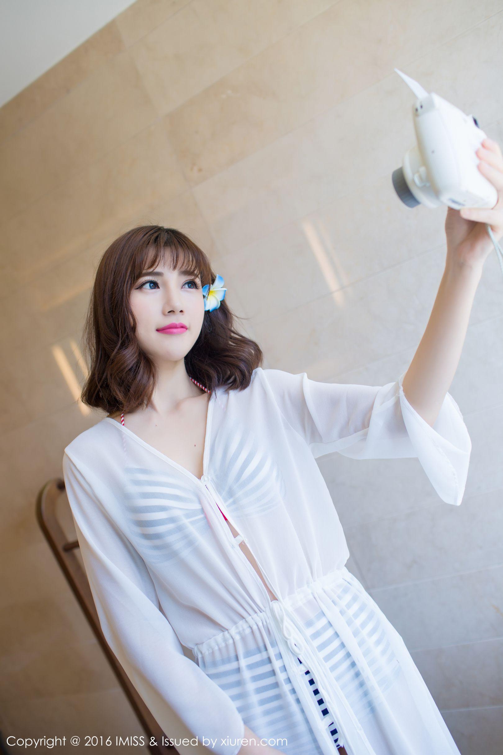 [IMiss 爱 蜜 社] Vol.083 Temperate Beauty @Sandy 陈天扬 兰卡威 旅 Shooting Photo