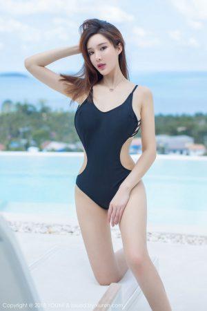 [YouMi 尤 蜜 荟] Vol.173 Tu Fei Round Short Frustration Ugly Black Poor-Seaside Photo Set
