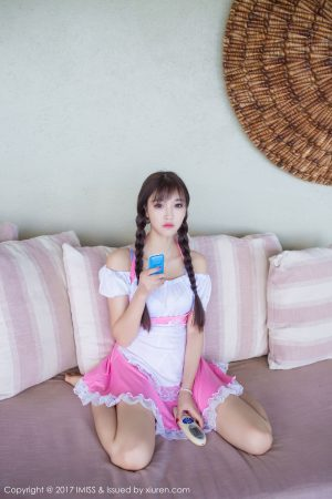 [IMiss 爱 蜜 社] Vol.159 杨晨晨 sugar-Double Horsetail Maid Photo Picture