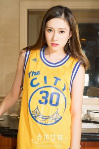 [KeLaGirls Carat Goddess] Zhiyue _I Love NBA_ Photo Gallery
