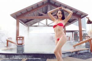 [TGOD Push Goddess] Model Luo Wanying-_Goddess Drive_ Daqing Lindian Beiguo Hot Spring