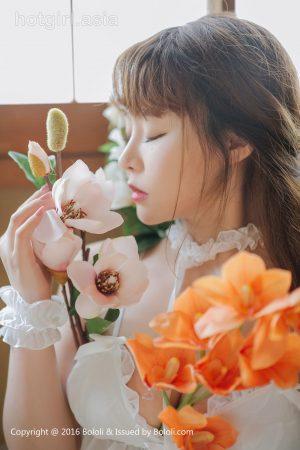 [Bololi 波罗 社] BOL.090 Liu Yuqi-White Girl and Flower Photo Album