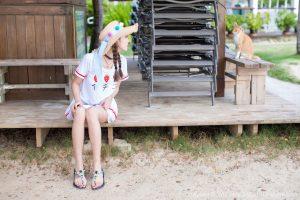 [IMISS 爱 蜜 社] VOL.185 Yang Chenchen sugar-sunshine and beach sweet car and beauty