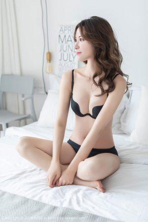 [IMiss 爱 蜜 社] Vol.296 Temperament Goddess @carry-cheongsam stockings photo