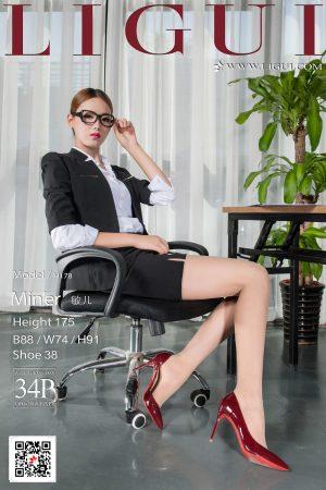 [LIGUI 丽 柜] Model Miner-OL red high heel silk feet