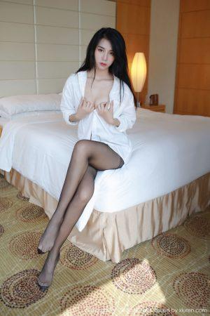 [MFStar Model Academy] Vol.156 Bai Ziyan nicky-Beautiful legs in stockings