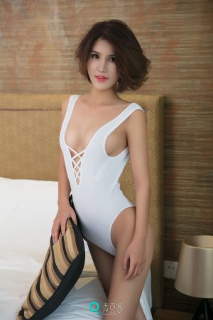 [QingDouKe 青豆 客] Yinuo-short-haired mixed-race beauty