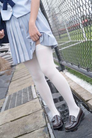 [Sen Luo Consortium] R15-036 Bai Si College Entrance Examination Girl Loli Si foot photo set