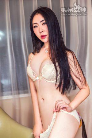 [Toutiaogirls headline goddess] Liu Feifei-Big White Bunny