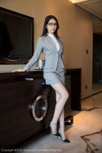 [XIUREN 秀 人] No.1167 Goddess @Angela 小 热 巴 sensual OL photo (on)