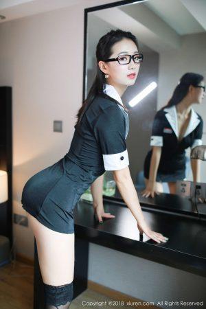 [XIUREN 秀 人] No.1193 Model @ 宋 -KiKi 演译 uniform teacher