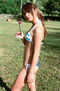 [YS Web] Vol.227 Natsujin Kamata-Outdoor Fresh and Beautiful Girl Photo Album