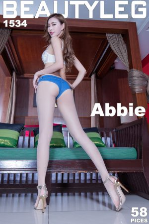 [Beautyleg] No.1534 Leg Model Abbie Long Leg High Heel Beautiful Leg Photo