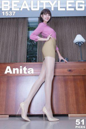 [Beautyleg] No.1537 Leg model Anita-OL skirt beautiful legs photo