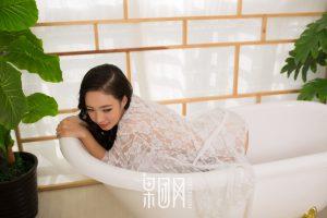[Girlt 果 团 网] No.085 White lace