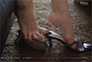 [IESS 奇思 趣向] Silk Foot Bento 137 Shan Shan-Bare Foot Sandals