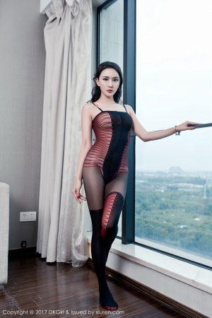 [DKGirl Royal Girl] Vol.047 Mei Ge-Vacuum interpretation of beautiful milk and beautiful buttocks