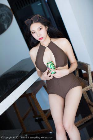 [IMiss 爱 蜜 社] Vol.202 Little Fox Sica-Bikini Wet Body Series