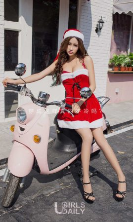 [Ugirls 爱 尤物] No.950 Tao Xiner & Qiqi-Nuan Nuan Christmas Photo Album