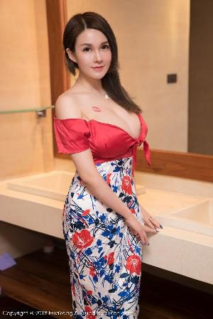 Shen Hao Peach Off The Charm Temptation of Worship [Huayuan Huayang] Vol.035 Photo Collection