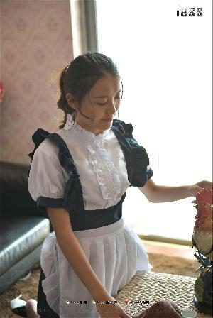 Wanping The maid 2 [异 思 趣 向 i] silk foot is 203 photo set