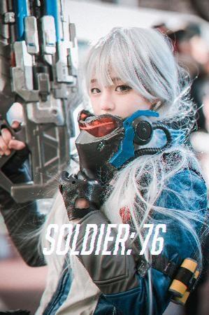 [Djawa] Jenny – Soldier_76 photo set