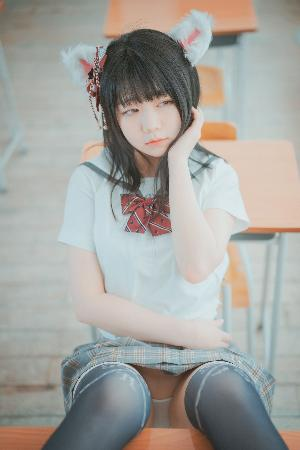 [DJAWA] Pian – Cat Girl Does Not Take Classes Photo Set
