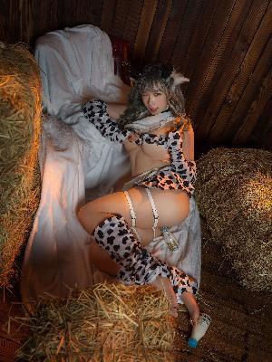 [Net red COSER photo] Mason jam – milk cow set